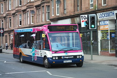 47463 FX07LJC (Wee G 1&2 Branded) (G2 - Maryhill (AMcC1970) Tags: g wee stagecoach