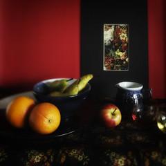 still life v.2 (Wendy:) Tags: life stilllife fruit still nik imitation odc tiltshift fauvism coloureffects