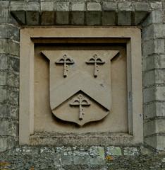 Newton, Manor Lodge (beery) Tags: england heraldry arms lodge cambridgeshire grade2 newton hurrell gradeii newtonmanor
