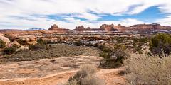 Canyonlands National Park (nikons4me) Tags: snow clouds utah ut canyonlandsnationalpark bluffs mesa rockformations buttes woodenshoearch nikonafsdx18200mmf3556gifedvr nikond7100