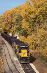 A Golden Afternoon (ac1756) Tags: minnesota stpaul 1992 northwestern ge cnw 8542 c408
