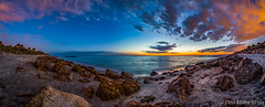 Caspersen Pano (DonMiller_ToGo) Tags: sky panorama gulfofmexico nature clouds photoshop outdoors seascapes florida dusk sunsets beachlife panoramic layers hdr goldenhour 3xp caspersenbeach hdrphotography beachphotography d5500 skypainter manualmerge sunsetmadness sunsetsniper panoimages2