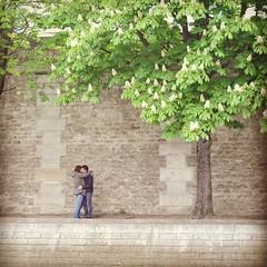 Les amoureux du quai des orfvres #paris #kiss #amour #amoureux #couple (BrontoSystems) Tags: paris nikon kiss couple amour amoureux d90
