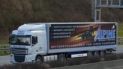 D - Mitan >Alpine< DAF XF 105.460 SC (BonsaiTruck) Tags: truck lorry camion alpine trucks 105 lastwagen daf lorries lkw xf lastzug mitan