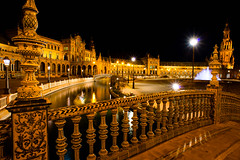 Plaza de Espaa (Travel by WestEndFoto) Tags: travel building sevilla andaluca spain flickr artificial seville mostinteresting historical es andalusia popular architecturephotography agenre fother flickrexplored bsubject dgeography flickrwestendfoto flickrjeffpj mfnikkor20mmf28ais flickrtravelbywestendfoto flickrexploredtravel flickrtravelseville queueparkep