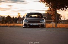MK6 (erwin.banicek) Tags: sunset sun vortex car vw canon volkswagen photography photo low picture pic static shooting fullframe vag sunnyday stance carporn mk6 worldcars canon6d cultworks ebnck