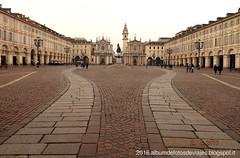 Piazza San Carlo de Torino (albumdefotosdeviajes.blogspot.it) Tags: torino piazzasancarlo