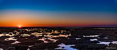 Puesta de sol montijo, Sanlucar/Chipiona (Cadiz) (jangel125) Tags: costa sol de mar nikon 15 paisaje cielo d750 corrales tamron puesta rocas orilla chipiona sanlucar 30mm barrameda