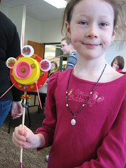 Outdoor Art projects at the Grabill Branch (ACPL) Tags: art outdoor fortwaynein acpl grb allencountypubliclibrary grabill craftadventures