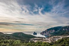 Masua - Sulcis (Freak_Irish_Sister) Tags: sardegna sunset sea canon landscape mine tramonto mare sardinia sigma panoramic panoramica hdr nebida miniera masua sulcis pandizucchero canon7d sigma816mm canon7dmarkii