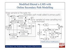 Active Noise Cancellation by the modified filtered x-LMS algorithm with online secondary path modelling PPT file_04 (DrJohnBullas) Tags: by path online modified secondary noise modelling algorithm active cancellation filtered xlms