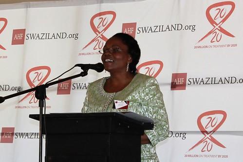 Piggs Peak Clinic Opening, Swaziland