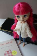 196/366 I can make Dolls clothes - faux-fur jacket