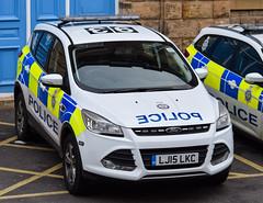 LJ15LKC (firepicx) Tags: uk ford station newcastle transport central police vehicle british response kuga lj15lkc
