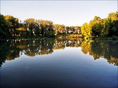 Ada Ciganlija (Katarina 2353) Tags: lake film landscape nikon europe serbia belgrade beograd srbija adaciganlija katarinastefanovic katarina2353