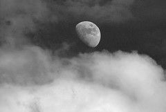 I cant stop shooting of it (STTH64) Tags: sky bw moon clouds movie twilight fantasy planet theme feeling moonshine