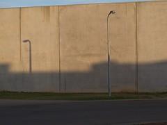 Homage to Smart [2014-09-13 Werribee] (s2art) Tags: light urban industry triangles concrete shadows australia melbourne victoria pole canvas werribee urbanlandscape jeffreysmart concretecanvas smartesque canong11