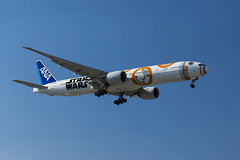 ORD 4-17 (Nicola Berry) Tags: chicago japan plane star ana airport nikon all aviation 10c ohare il nippon wars boeing airways arrivals planespotting boeing777 ohareairport bb8 d5300 ja789a nikond5300 runway10c
