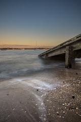 The Launchpad (duncan_mclean) Tags: sunset seascape landscape evening ramp waves auckland lee devonport torpedobay littlestopper