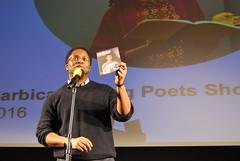 Jacob Sam-La Rose, Barbican Young Poets showcase 2016 (aarnlee) Tags: poetry performingarts barbican spokenword