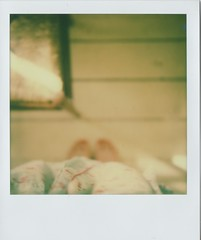 Sunday Morning (again)....post party (elin*) Tags: morning blur sx70 sunday impossibleprojectcolourfilm roidweek2016