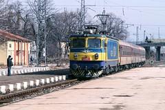 BDZ 46 229, Septemvri 2013-02-04 (Michael Erhardsson) Tags: travel station resa tg bulgarien 2013 bdz septemvri ellok
