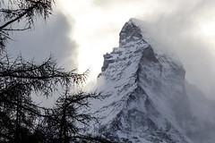 Ain't Disneyland. (kpang21) Tags: mountain nature switzerland europe zermatt matterhorn