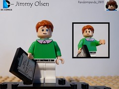 Jimmy Olsen (Random_Panda) Tags: comics book dc comic lego fig character books super hero figure superhero characters heroes minifig minifigs superheroes figures figs minifigure minifigures