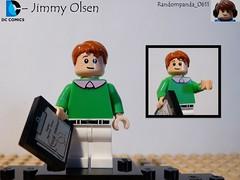 Jimmy Olsen (RandomPanda_0611) Tags: comics book dc comic lego fig character books super hero figure superhero characters heroes minifig minifigs superheroes figures figs minifigure minifigures
