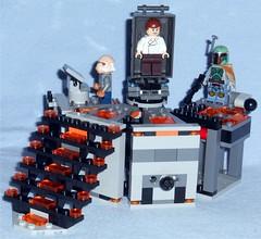 Lego 75137 - Carbon-Freezing Chamber (Darth Ray) Tags: star lego freezing solo chamber bobafett boba wars carbon han hansolo fett carbonite 75137 carbonfreezing ugnaught hansoloincarbonite