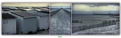 LA PLAGE & LA JETEE OUEST de CALAIS (rgisa) Tags: lighthouse pier cabin plage phare channel calais manche jete cabine ouest