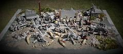 Little diorama (Joe Brick) Tags: tank lego ww2 soldiers custom soldaten wehrmacht