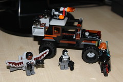 Lego Super Heroes (Mertcan Kl) Tags: black canon lego falcon marvel widow crossbones