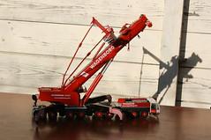 DSC03716 (Wilfred de Groot) Tags: big hobby cranes homemade precious rig heavy beautifull scalemodel heavyduty terex heavylifting wagenborg demag ac700