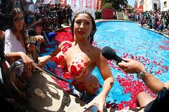 """Piscinazo de la Reina del Festival de Via 2016 Nicole """"Luli"""" Moreno (Francisco Longa.) Tags: chile ch viadelmar regiondevalparaiso"""