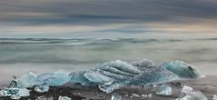 Jokulsarlon Beach (Mark Heeney UK) Tags: red beach iceland iceberg jokulsarlon neutraldensity sonya77 markheeneyuk sal1650