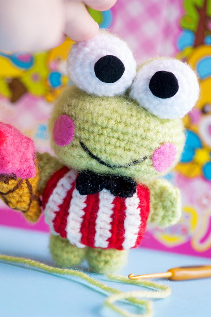 Kawaii Frog Amigurumi : The Worlds Best Photos of amigurumi and frog - Flickr ...