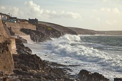 Porthleven rough sea (andyg1962) Tags: ocean sea seascape storm canon eos coast cornwall waves wind stormy cliffs coastal 5d porthleven