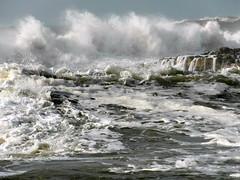 moroccan coast big waves (8) (kexi) Tags: ocean africa white water coast march big rocks waves samsung atlantic morocco foam maroc huge splash powerful atlanticocean 2015 maroko instantfave oualidia wb690