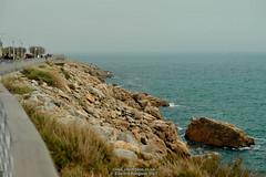 Rocks (Ed.ward) Tags: holiday france cyclingholiday southoffrance sete sea mediterraneansea mediterranean rocks coast 2015 nikond700 nikonafzoomnikkor80200mmf28ed ce:photo=7237