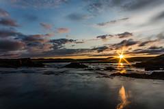 Am Flusse Grimsá (Panasonikon) Tags: iceland island fluss grimsá wolken nikond5100 sunset panasonikon sigma1020 weitwinkel