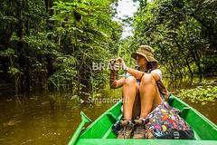 NO_Tefe0080 (Visit Brasil) Tags: travel brazil tourism nature horizontal brasil amazon rainforest natureza turismo norte amazonas ecoturismo ecotourism externa nutico tef comgente diurna riosolimes reservamamirau visitbrasil