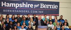 Bernie Sanders (John M Poltrack) Tags: politics rally nh indoors politicians primary berniesanders feelthebern