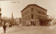 Story's College, B&W Postcard