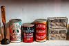Baking soda tins (Walt Barnes) Tags: ca history museum canon vintage advertising eos calif sp crockett topaz southernpacific traindepot 60d canoneos60d eos60d topazclarity crocketthistoricalmuseum topazinfocus wdbones99