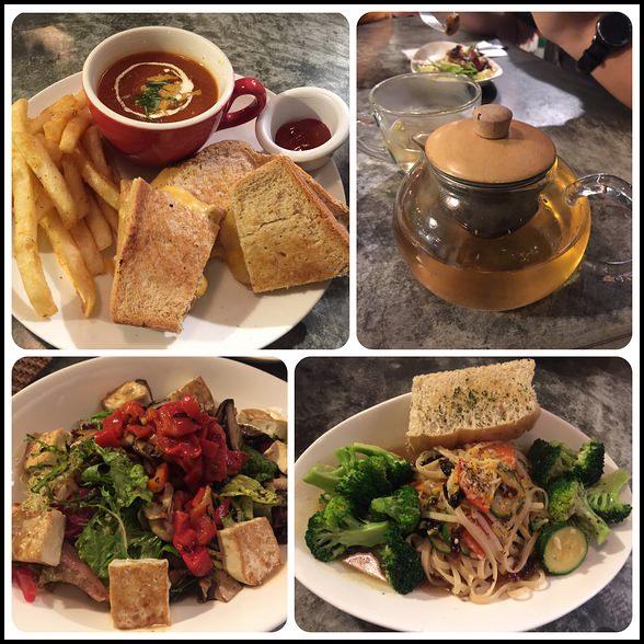 台北蔬食推薦 ▎Herban Kitchen & Bar 二本餐廳