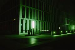 Lohausen, Dsseldorf, NW (Jickatrap) Tags: film architecture night analog 35mm airport glow pentax dsseldorf   nordrheinwestfalen urbanlandscape kodakgold  pentaxmz50  filmphotography    gold200     newtopographics    photographersontumblr