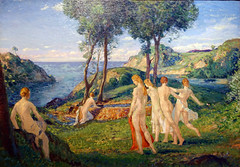 Davies, Nudes in a Landscape
