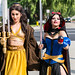 Jedi Belle and Sith Snow