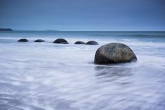 Moeraki Boulders #1 (way2chirper) Tags: boulders moeraki sescape